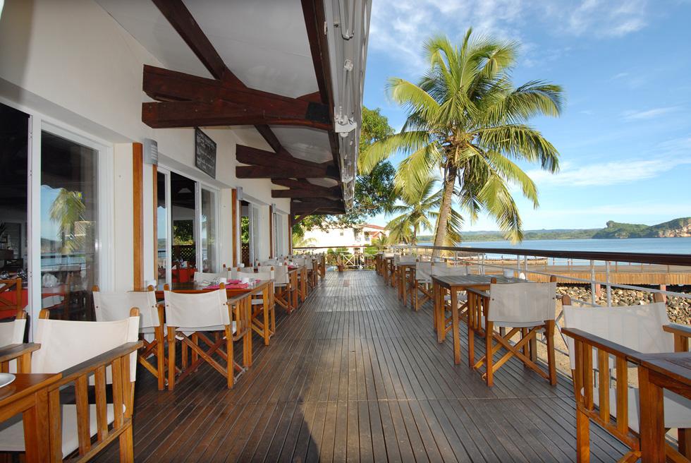 Terrasse du Restaurant Melville