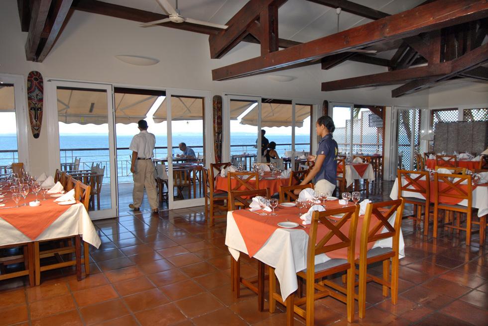 Restaurant Melville, Hôtel Allamanda
