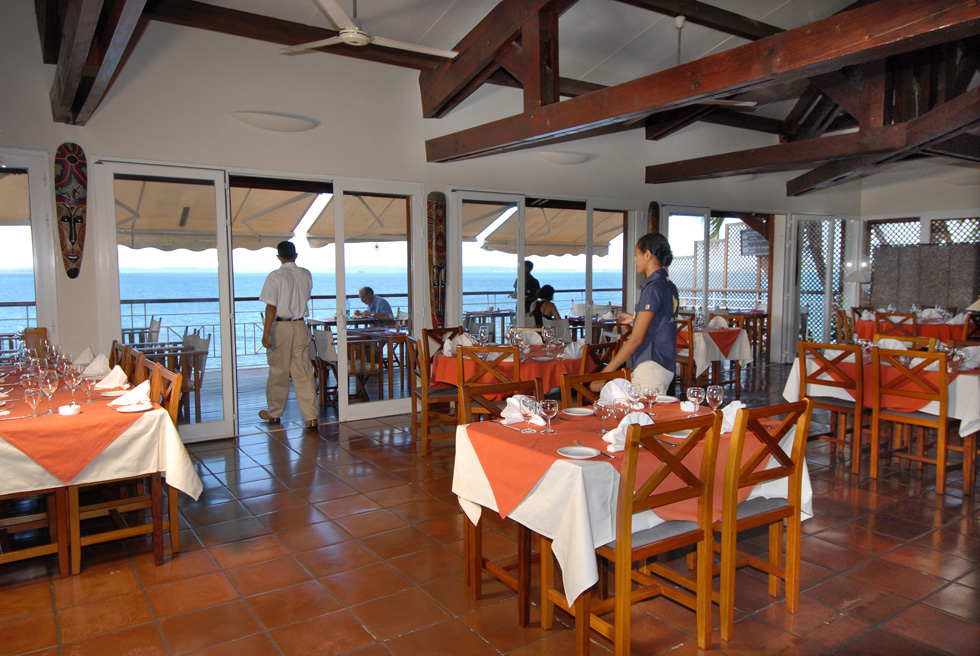 Melville Restaurant, Allamanda Hotel